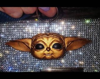 Sith Baby Yoda MADE TO ORDER Master Yoda Star Wars Das Kind The Mandalorian The Child Glitter Eyes