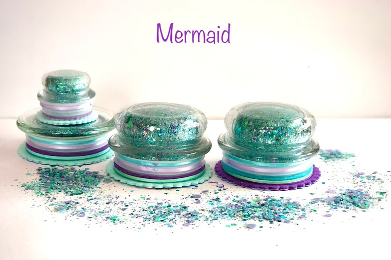 The Stampin BUG-Blinged Up Glider Mermaid