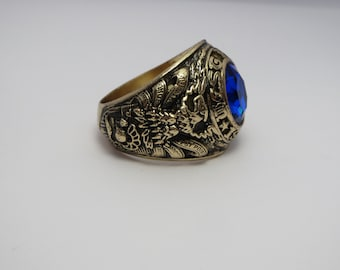in USA USMA Military Academy West point  Ring CustomMade  Ring school military ring silver 925 RING 1990 Graduation new