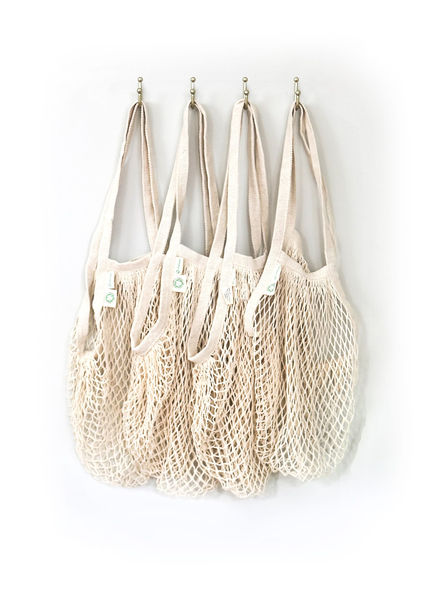 Fishnet Grocery Bag String Bag Yellow Market Tote