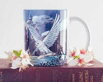 Hogwars Hedwig Mug - HP fan gift