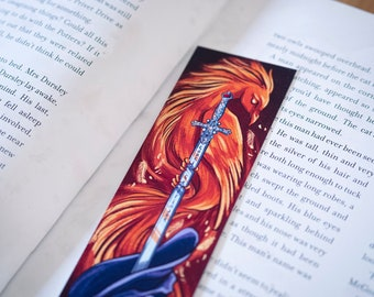 Gryffindor Sword Harry Potter Bookmark