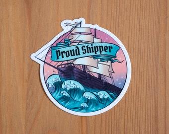 Proud Shipper | Fanfiction Sticker