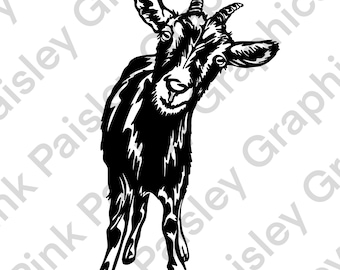 Goat PNG - Clip Art - Transparent Background - High Resolution