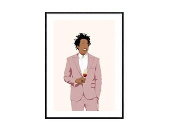 T919 Jay-Z The Blueprint Rap Hip Hop Music Album Cover Custom Poster Silk Art