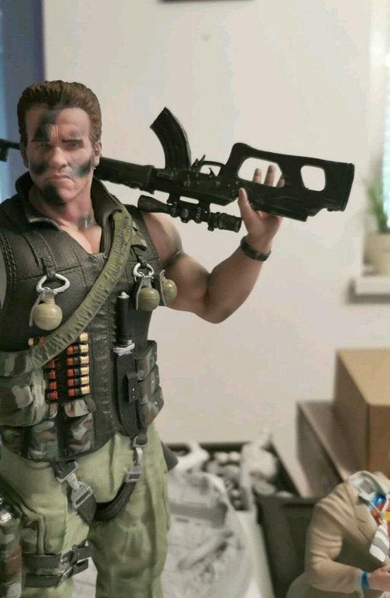 Commando (Arnold Schwarzenegger) figurine