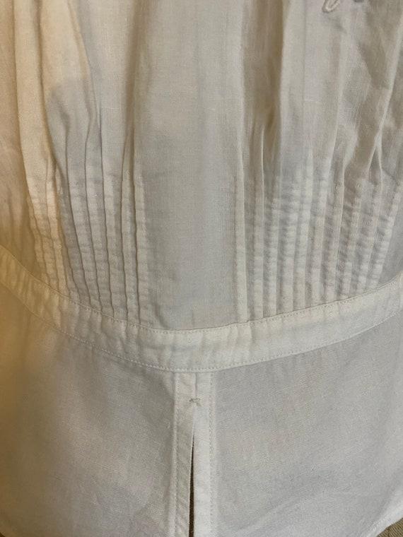 Antique French Corset Cover / Camisole . Edwardia… - image 5