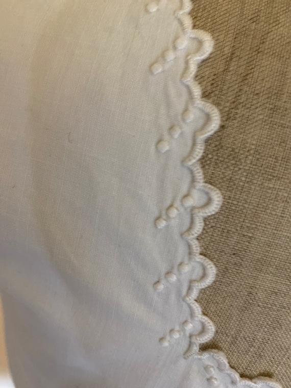 Antique French Corset Cover / Camisole . Edwardia… - image 7