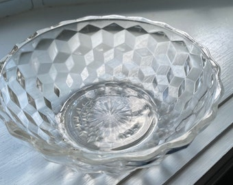 Fostoria SEVILLE # 2350 HTF elegant glass Set of 5 fruit bowls amber 5 12 ca 1920s