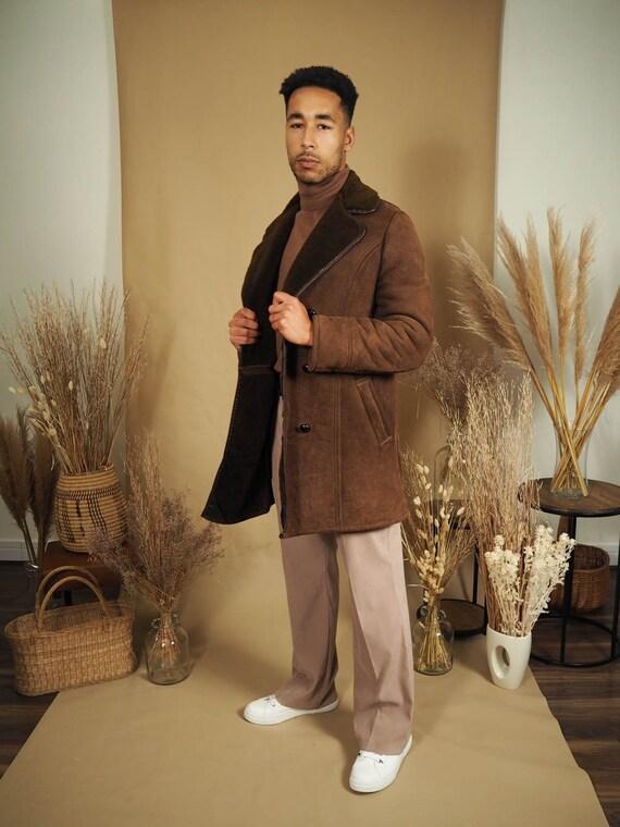Remi Vintage Sheepskin Coat - image 2