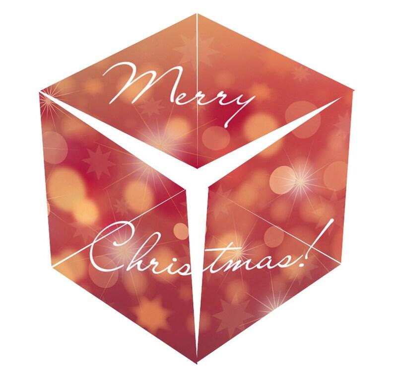 christmas: DIY 3D papercraft image 0