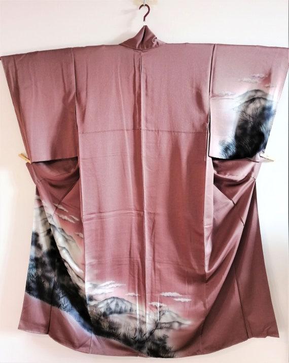 Vintage Japanese Kimono, Antique Kimono, Vintage K