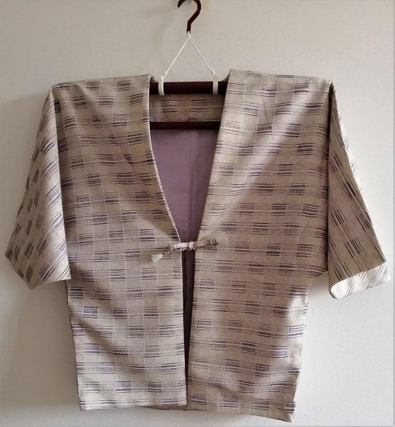 Haori, Jacket, Vintage Japanese Kimono, Antique Ki