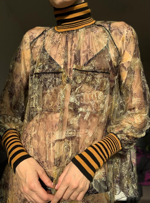 Vintage RARE Jean Paul Gaultier mesh top