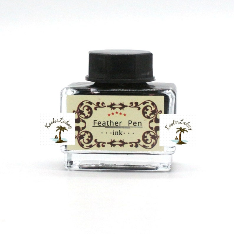 Ink Included Renaissance Quill Pen For Fabulous Calligraphy