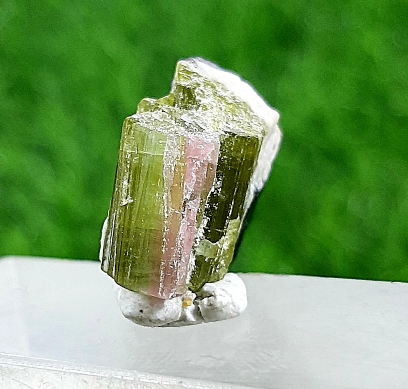 19cts Green And pink Colour Tourmaline Bunch from Afghanistan