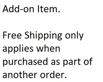 Single Pair of Straps Add-On item
