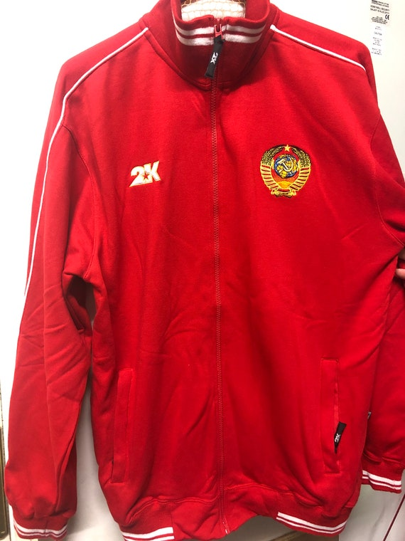 USSR track suit tops