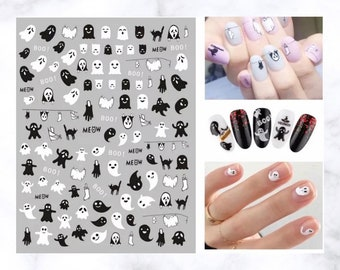 Boo Nail Art Decals - Stickers