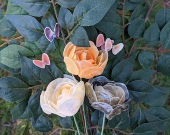 Hand Made Shell Flowers