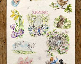 Spring Time - A3 Print (297mm x 420mm) - Paper Size
