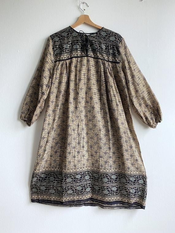 Vintage Indian cotton 1970s dress - vintage Pakis… - image 4
