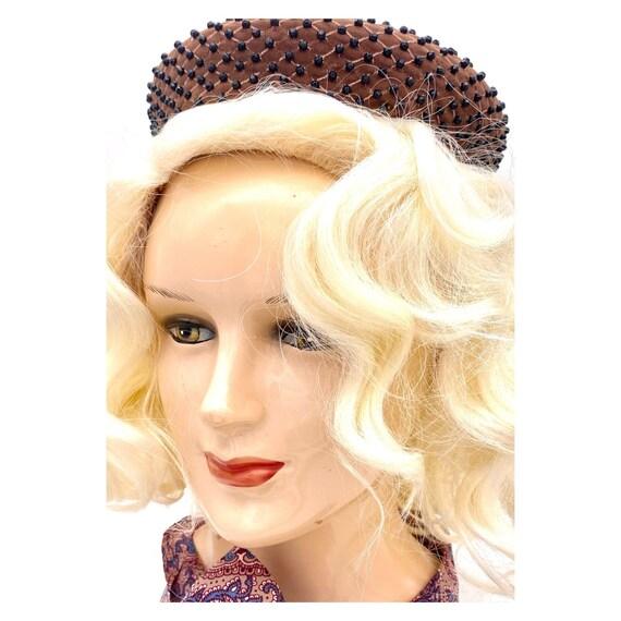 Vintage 1960s Miss Dior Christian Dior Halo Hat, … - image 8