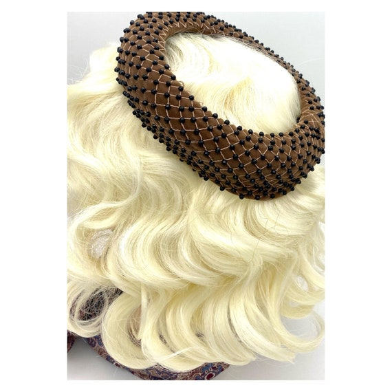 Vintage 1960s Miss Dior Christian Dior Halo Hat, … - image 4