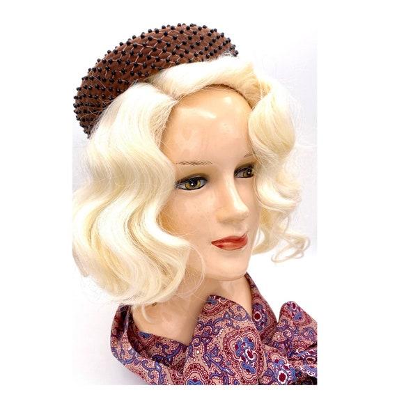 Vintage 1960s Miss Dior Christian Dior Halo Hat, … - image 7