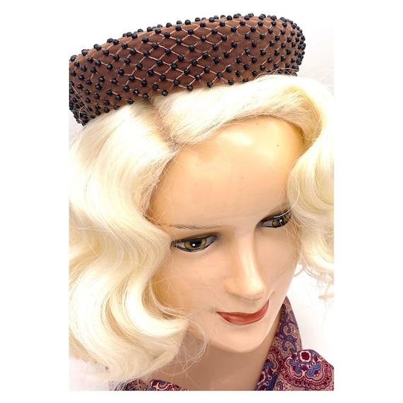 Vintage 1960s Miss Dior Christian Dior Halo Hat, … - image 10