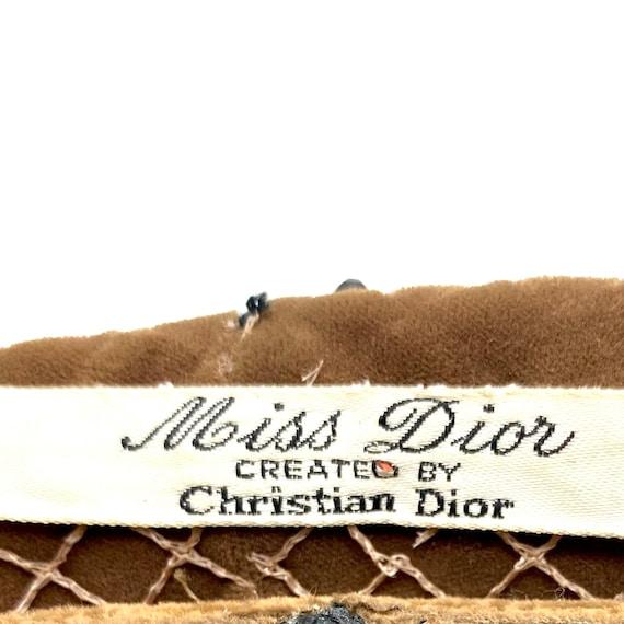 Vintage 1960s Miss Dior Christian Dior Halo Hat, … - image 2