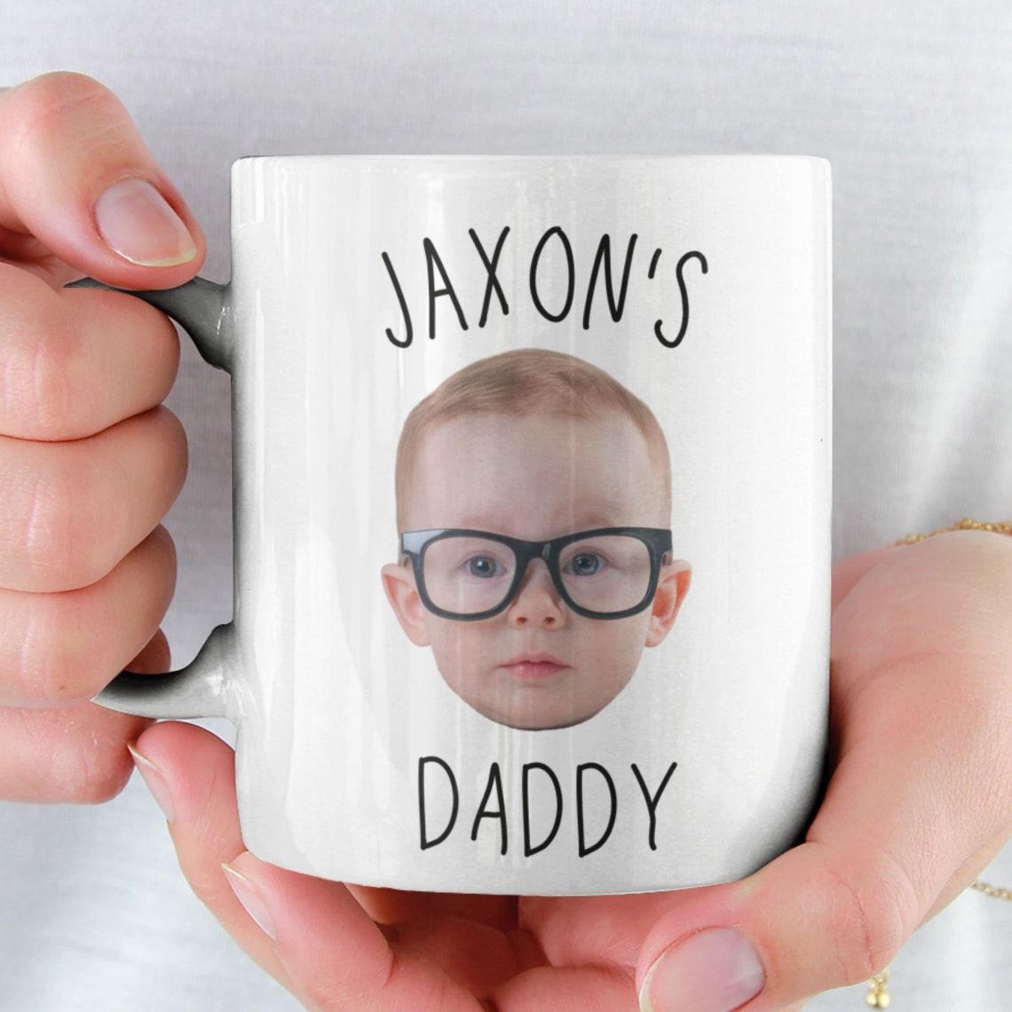 Custom Baby Face Mug / Baby Face Coffee Mug / Personalized image 0; father's day gift ideas