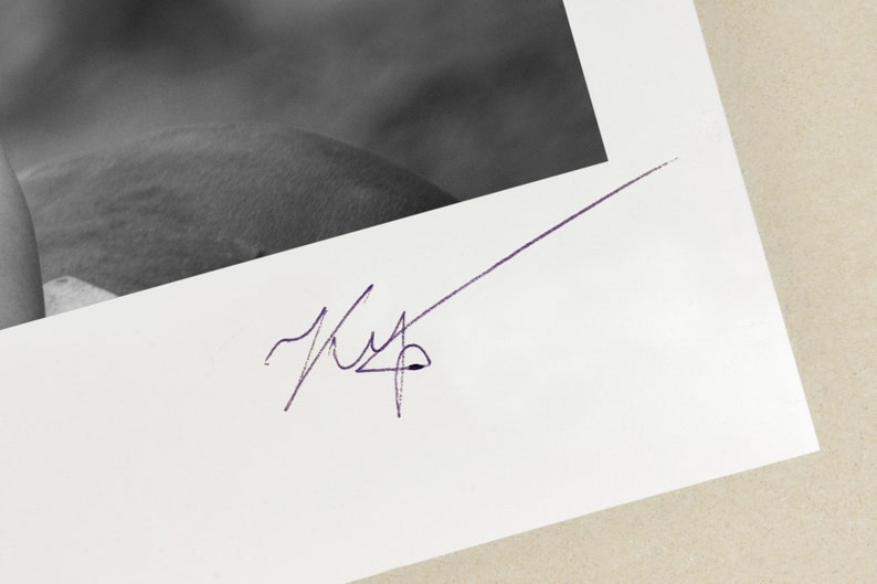 ARKADIY KURTA Signed Ltd Edition Fine Art Photograph NUDE