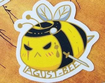 """BTS """"AGUST-BEE"""" Vinyl Sticker"""