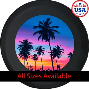 Spare Tire Cover ANY Size It/'s 5 O/'Clock Somewhere ANY Vehicle,RV neon light