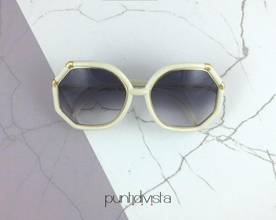 Ted Lapidus TL3 sunglasses ivory