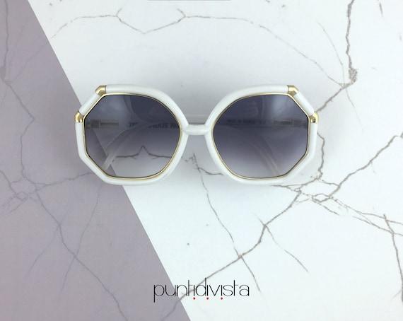 Ted Lapidus TL3 sunglasses bianco
