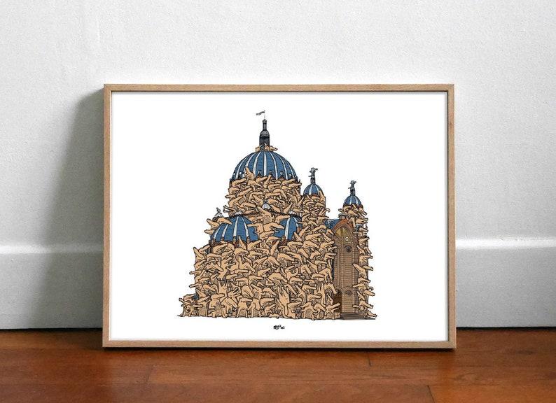 Sainte Crocotilde  Affiche 40x30cm image 1