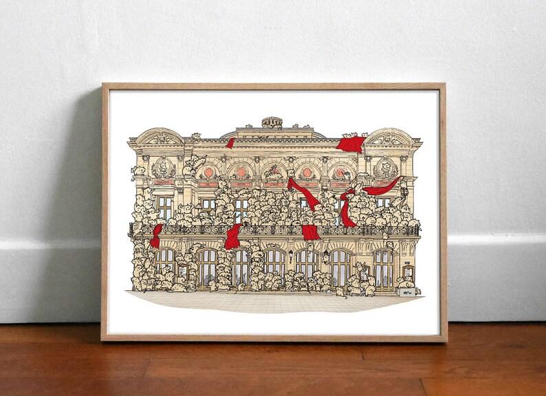 Les Petits Chats de l'Opéra  Affiche 40x30cm image 0