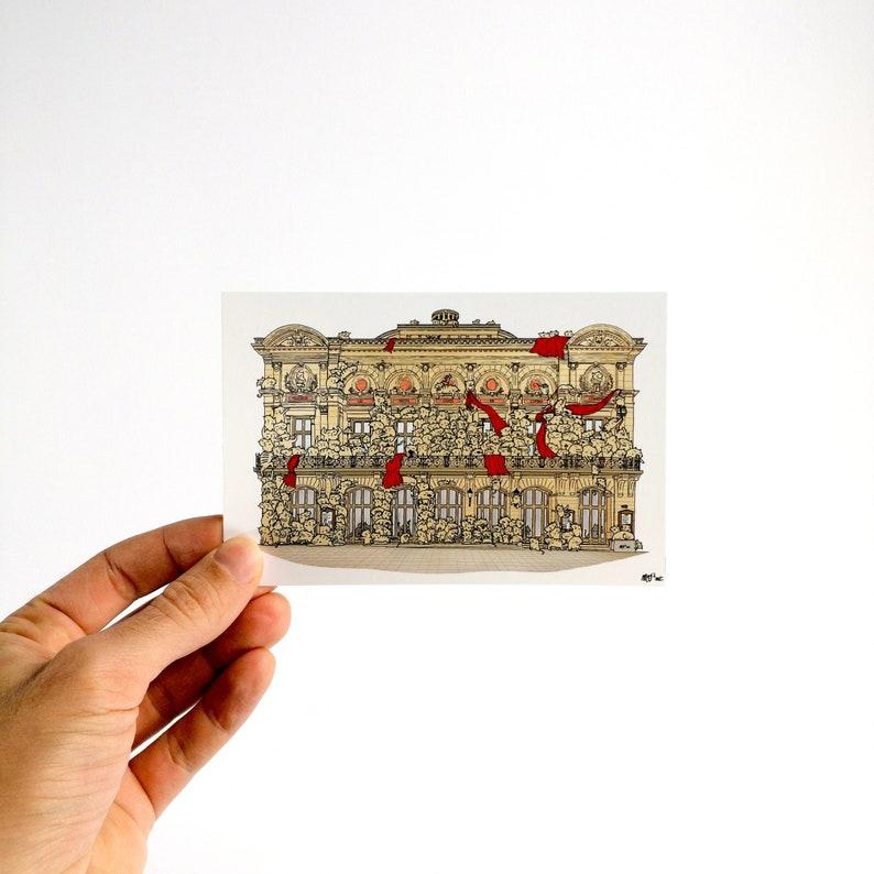 Les Petits Chats de l'Opéra  Carte Postale 10x15cm image 0