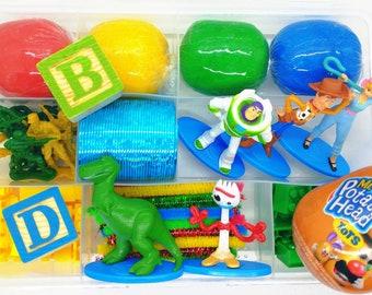 Toy Story Play Dough Kit, Toy Story Sensory Kit, Toy Story Playdough Sensory Kit, Sensory Kit for Kids