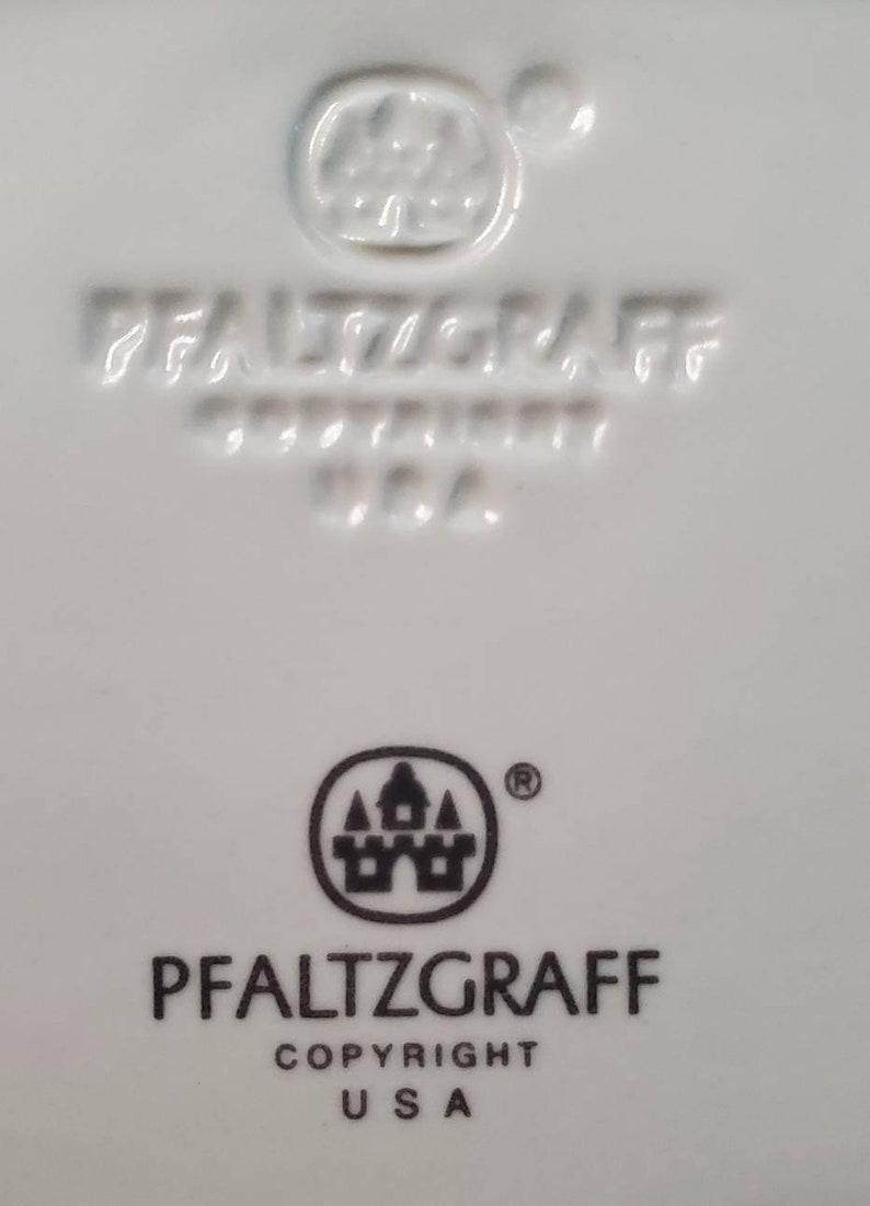 Vintage Pfaltzgraff Tea Rose Stoneware 12 Basket Platter