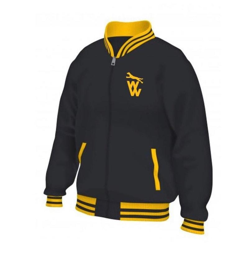 Wolves FC retro logo varsity jacket men\u2019s