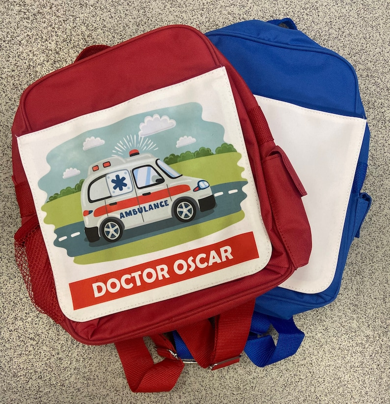 personalised bag kids children\u2019s Children\u2019s personalised backpack