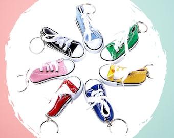 keyring fitness teacher gift stocking stuffer planner clip Pumps dangle charm stocking filler trainer keyring
