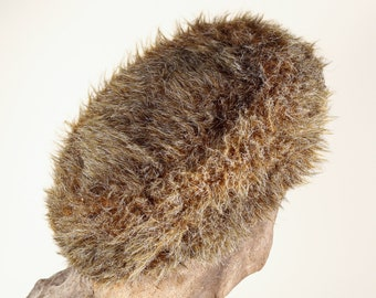 Vintage tagless youth small Faux Fur 60s hat