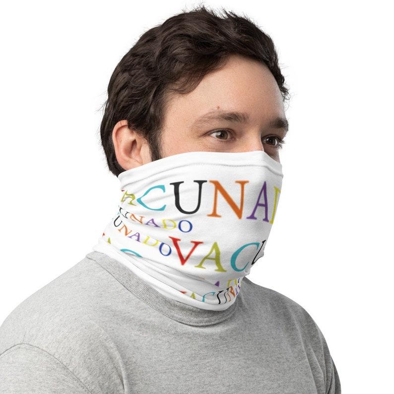 Bufanda mascara vacunadoNeck GaiterBraga cuello