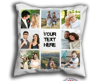 Personalised Pillow Case Collage