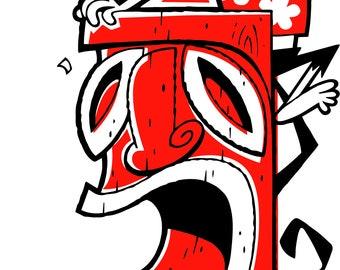 E: 20 Years Going APE shirt Art By Derek!