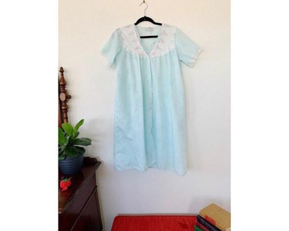 Vintage Danni New York Nightgown Set, Peignoir Se… - image 1